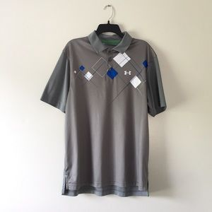 Under Armour loose heat gear short sleeve polo